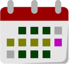 Colorful Calendar Icon